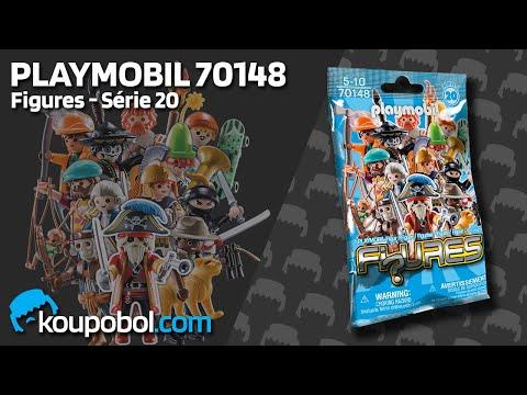 Vidéo PLAYMOBIL Figures 70148 : Figures Garçons - Série 20