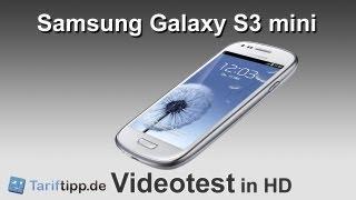 Samsung Galaxy S3 mini   Test in HD (deutsch)