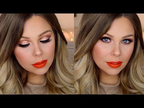 Sweet Peach Palette Makeup Tutorial | Crystal Conte