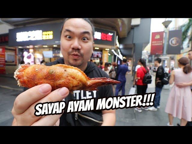 SAYAP AYAM MONSTER!!! UKURANNYA UDAH KAYAK PAHA!!!