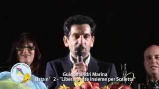 preview picture of video 'Scaletta Zanclea. Lista n°2. Comizio conclusivo campagna elettorale 2013'