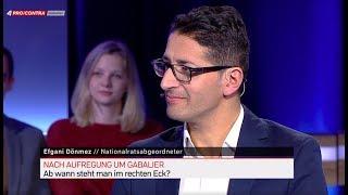 Nationalrat Efgani Dönmez Zu Gast Bei Pro Und Contra Auf PULS 4. TEIL 1
