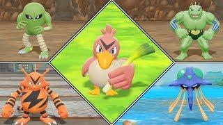 Hitmonlee  - (Pokémon) - Pokémon Let's Go Pikachu Shiny Hunting Highlights #06 (Farfetch'd, Hitmonlee, Electabuzz)