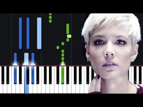 Halsey - Without Me Piano Tutorial