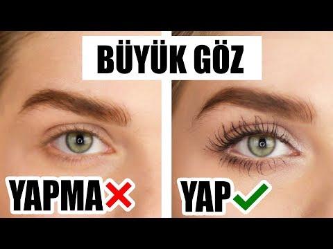 Küçük Gözleri Büyük Gösteren 10 Makyaj Hilesi ✅