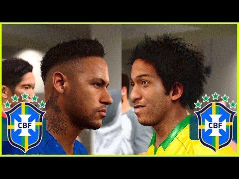 Seleção Brasileira Principal x Seleção Brasileira Sub-17 - Quem Ganha esse Jogo - PES2020