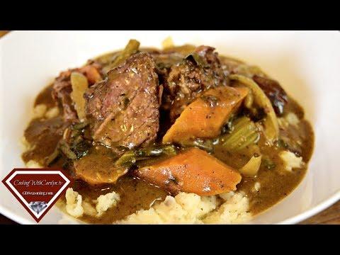 EASY BEEF POT ROAST RECIPE HE WON'T RESIST |Crock Pot Method |Cooking With Carolyn