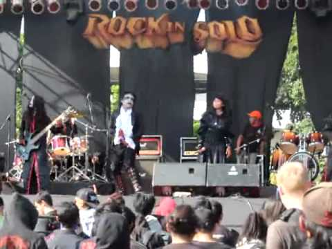 Brhobosan [Solo Black Gothic Metal] @Rock In Solo VI 2012