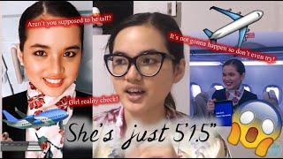 "she's 5'1.5"" lol | #shortysquad"