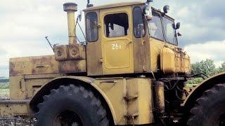 К-701 как управлять трактором | Кировец | Обзор, Тест-драйв | Урок вождения на тракторе.