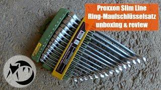 Proxxon Slim Line Ring-Maulschlüsselsatz unboxing & review