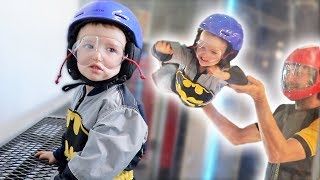 Skydiving For His 3rd Birthday!!!