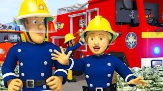 Sam a tűzoltó | A mama segítsége - A legjobb mentési kalandok | összeállítás | Sam a tűzoltó Mese