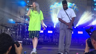 Billie Eilish | Lovely (with Khalid)   Lollapalooza 2018