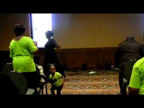 Daddys Daughters:Kim Fenley 1st Solo Praise Dance