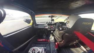 MSF 2016 R2 race 1 Open class: Arokieyy EG6 K20 Rocket Lemon Sepang Onboard