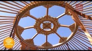 Моңғолиядан келген қандасымыз - ЭКСПО көрмесіне арнап, киіз үй тікті (23.03.17)