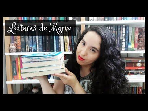 Vlog de Leituras de Março (2020) | VEDA 4 | Um Livro e Só