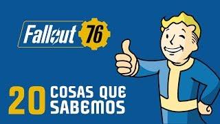 FALLOUT 76 - Las 20 cosas que ya sabemos sobre este nuevo lanzamiento - En Español #E32018