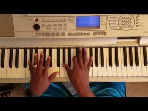 Gospel Church Preacher Chords In (Gb MAJOR) (F# MAJOR) Piano tutorial