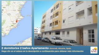 preview picture of video '2 dormitorios 2 baños Apartamento se Vende en Almoradí, Alicante, Spain'