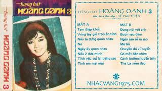 Hoàng Oanh – Nó – Thu Âm Trước 1975