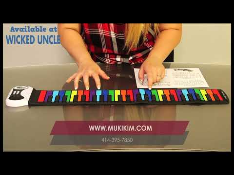 Youtube Video for Flexible Rainbow Keys Piano