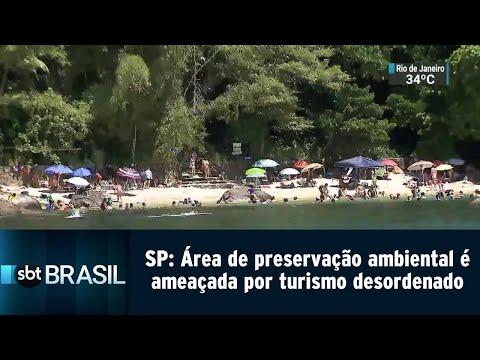 Área de preservação ambiental é ameaçada por turismo