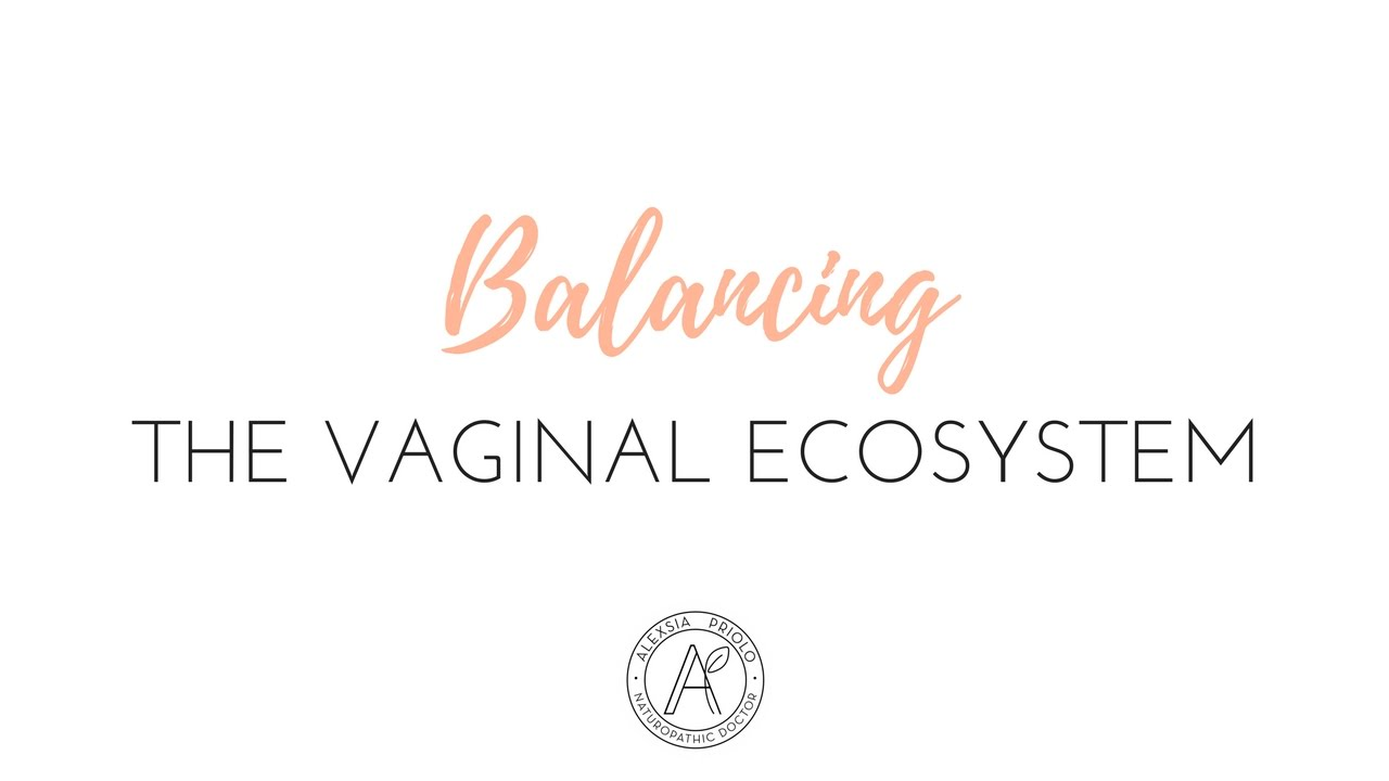 Home remedies to balance the vaginal pH