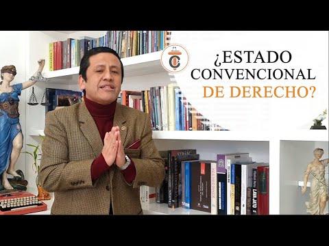 ¿ESTADO CONVENCIONAL DE DERECHO ? - TC162