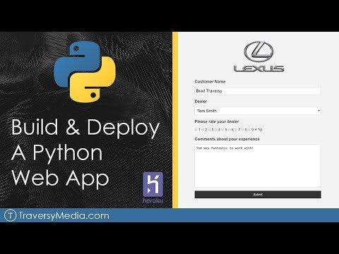 Build & Deploy A Python Web App   Flask, Postgres & Heroku