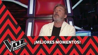"""Montaner le regala a Tini Stoessel un tema: """"Castillo azul"""" - La Voz Argentina 2018"""