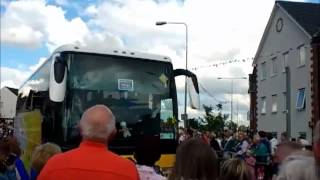 preview picture of video 'Olympic Torch Relay 6th July 2012 - Grays, Essex'
