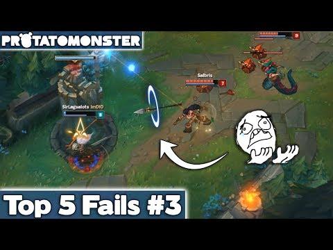 League of Legends Top 5 Fails Week 3 | LoL Funny Moments