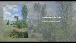 Violin sonata no. 21, K. 304