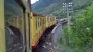 preview picture of video 'Le Petit Train Jaune de la Cerdagne et les Gorges de la Carança'