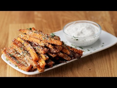Video Garlic Parmesan Carrot Fries