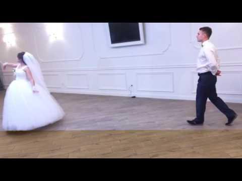 Постановка першого весільного танцю, відео 1