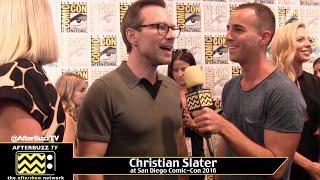 Christian Slater :Comic-Con 2016