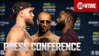 Paul vs. Woodley: Press Conference   SHOWTIME PPV