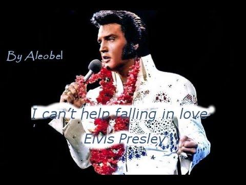 I can't help falling in love ♥ Elvis Presley  ~ Traduzione in Italiano