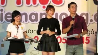 Hari Won Thử thách ăn chanh P2 8/5/2015
