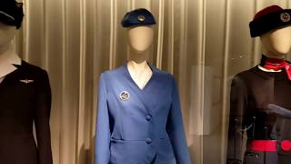 Japan Airlines cabin attendant uniforms 日本航空空姐制服大全