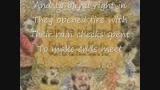 Fair to Midland - The Wife, the Kids, and the White Picket Fence (with Lyrics)