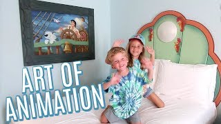 Checking Into Disneys Art Of Animation The Mermaid Rooms! 2019 Tour!