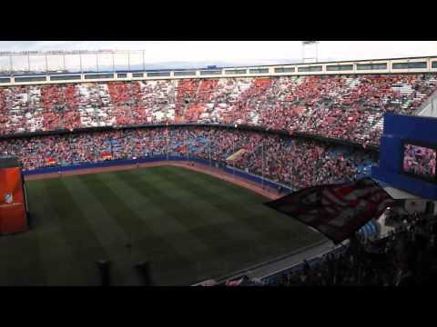 CL final in Vicente Calderon Stadium