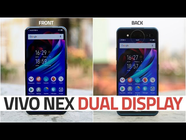 Vivo Nex Dual Display Edition First Impressions | NDTV