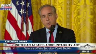 FNN: Veteran Affairs Secretary Shulkin Talks About Problems with VA, Plans to Fix Accountability