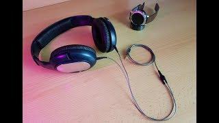 Sennheiser HD 201 Gaming/Studio Headphone Restoration/Teardown