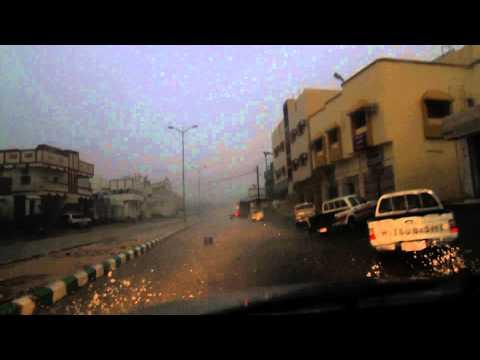 مطر ختبه يوم الاثنين 14-10-1432.